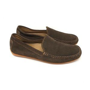 Austen Heller Brown Suede Slip On Casual Shoes 10
